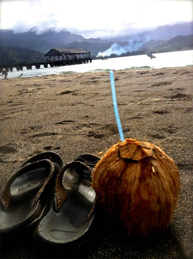 A perfect day on Hanalei Bay