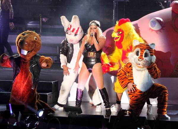 Another shot from Getty. Have you been to a Ke$ha concert?