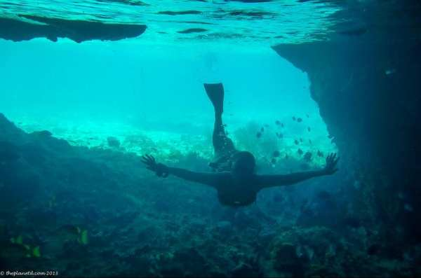 My favorite shot from Thunderball Grotto, taken by The Planet D