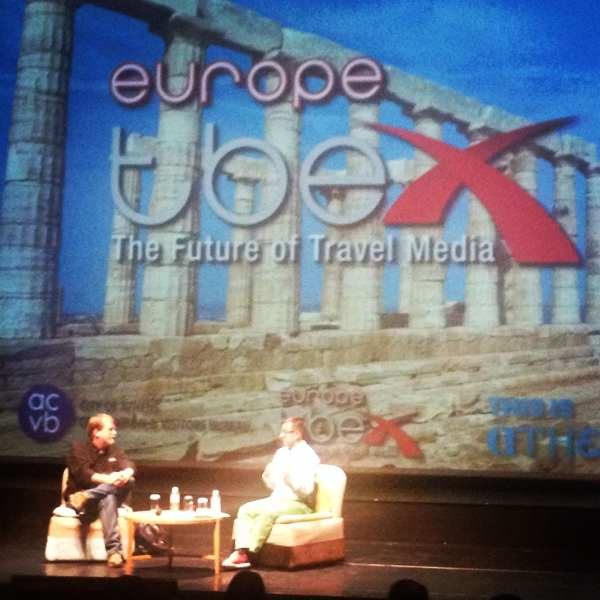 The TBEX Athens keynote speech with Jaume Marin & Chris Christensen, two of the nicest guys you could ever hope to meet