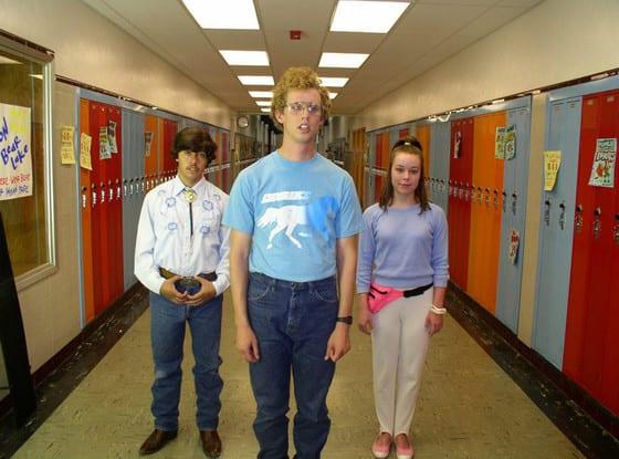 Pedro, Napoleon & Deb at Preston High School