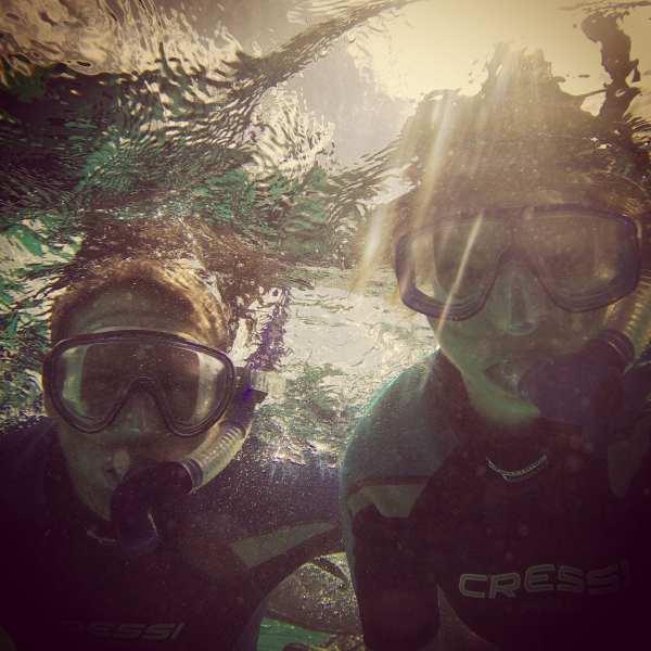 Snorkeling near Green Turtle Cay