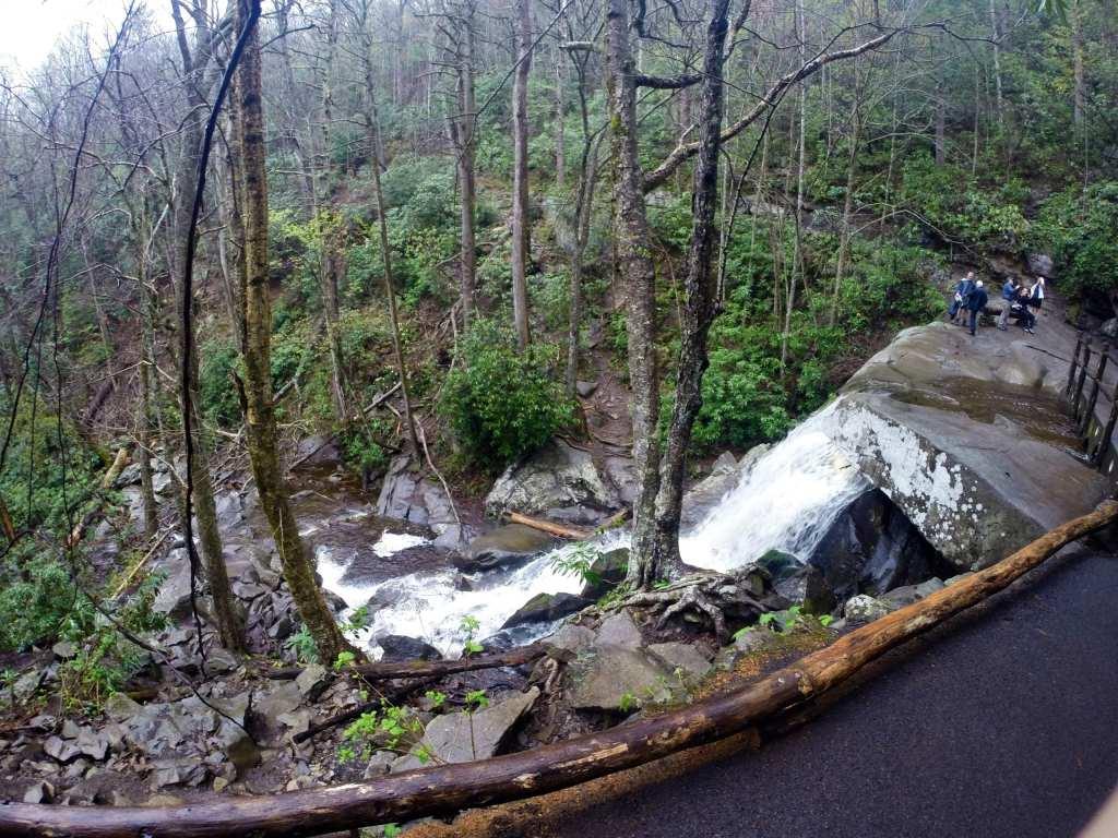 Hiking Laurel Falls Smoky Mountains National Park
