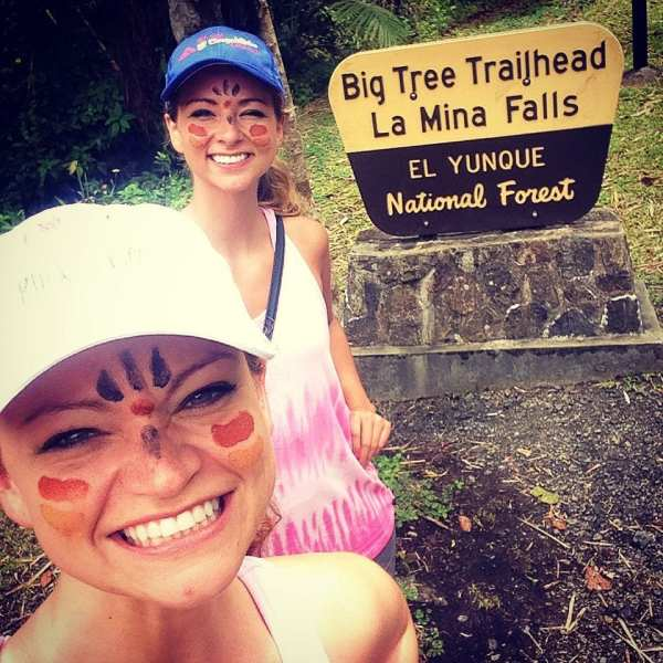 El Yunque National Forest Puerto Rico The Jet Sisters Angie Away