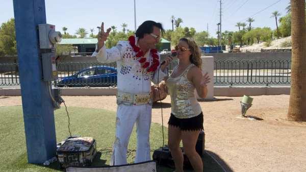When in Vegas, do as the Elvis impersonators do