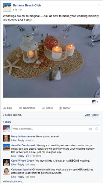 Bahama Beach Club Treasure Cay Wedding