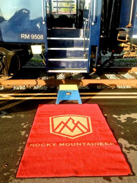 Rocky Mountaineer Red Carpet