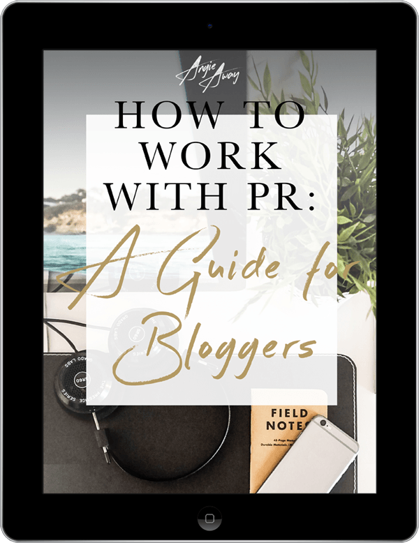 Bloggers Guide Angie Away