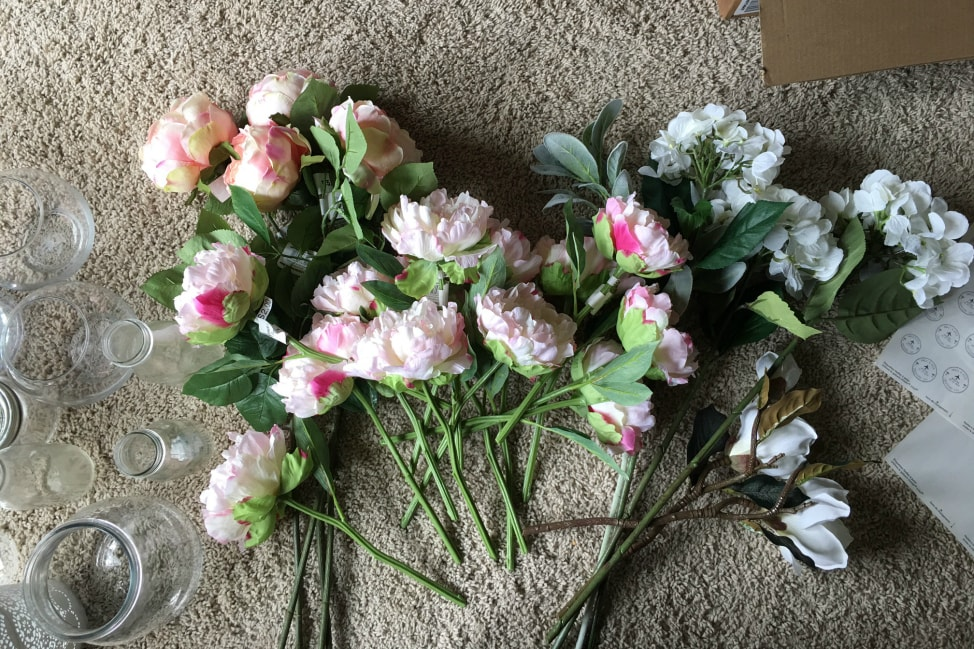 How To Make A Fake Flower Wedding Bouquet