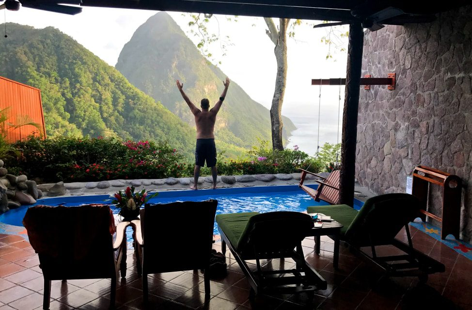 The Most Romantic Hotel in Saint Lucia - Ladera Resort