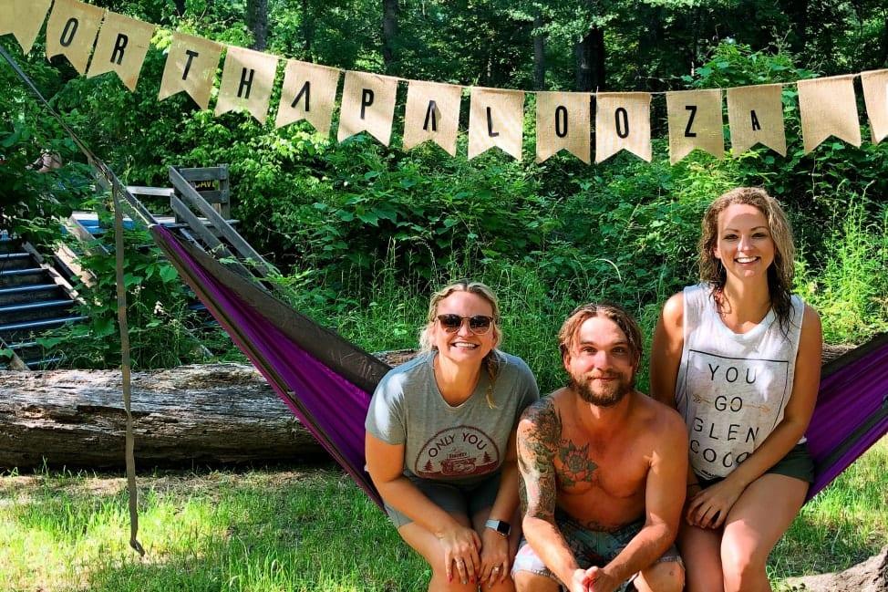 Camping at Ginnie Springs Florida