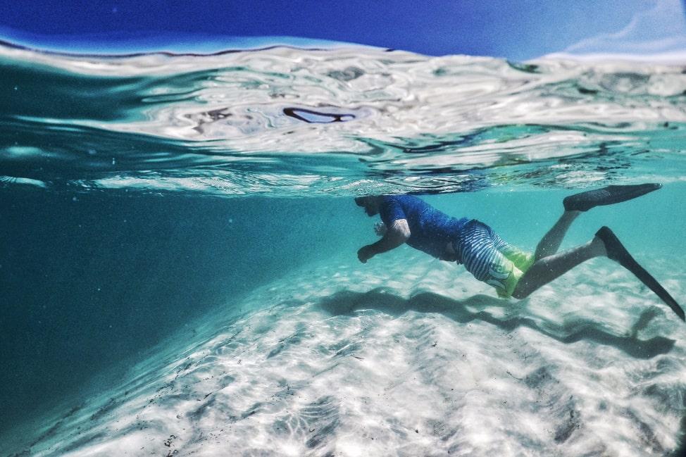 Long Island Bahamas - Deans Blue Hole