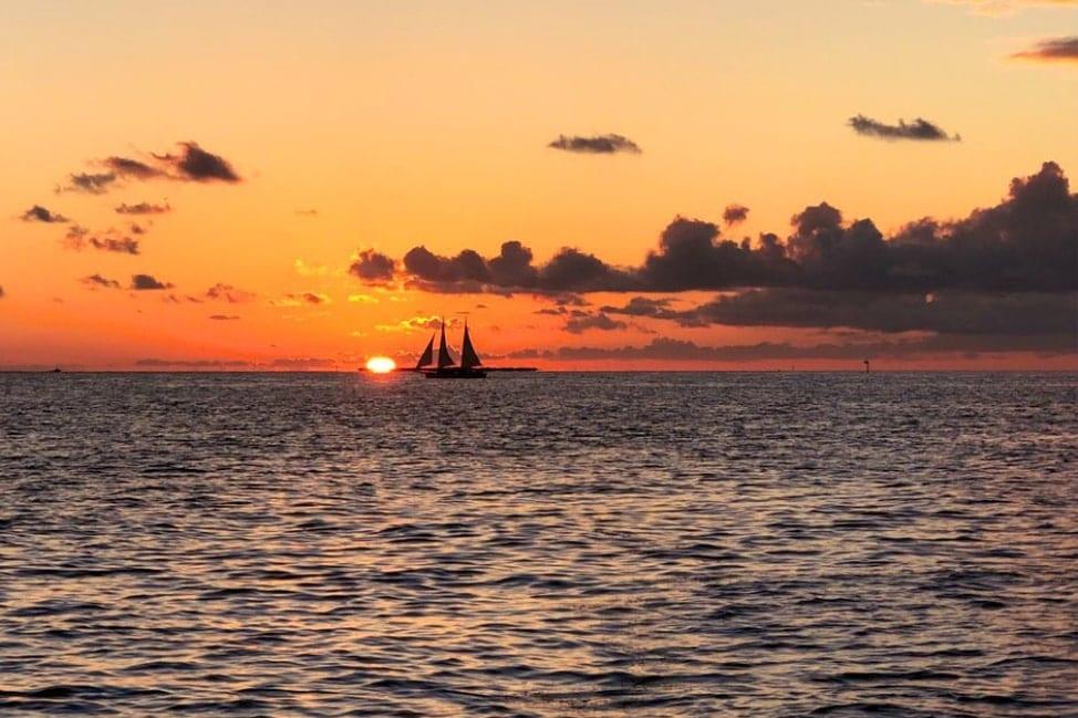 Sunset Sail Sebago Key West