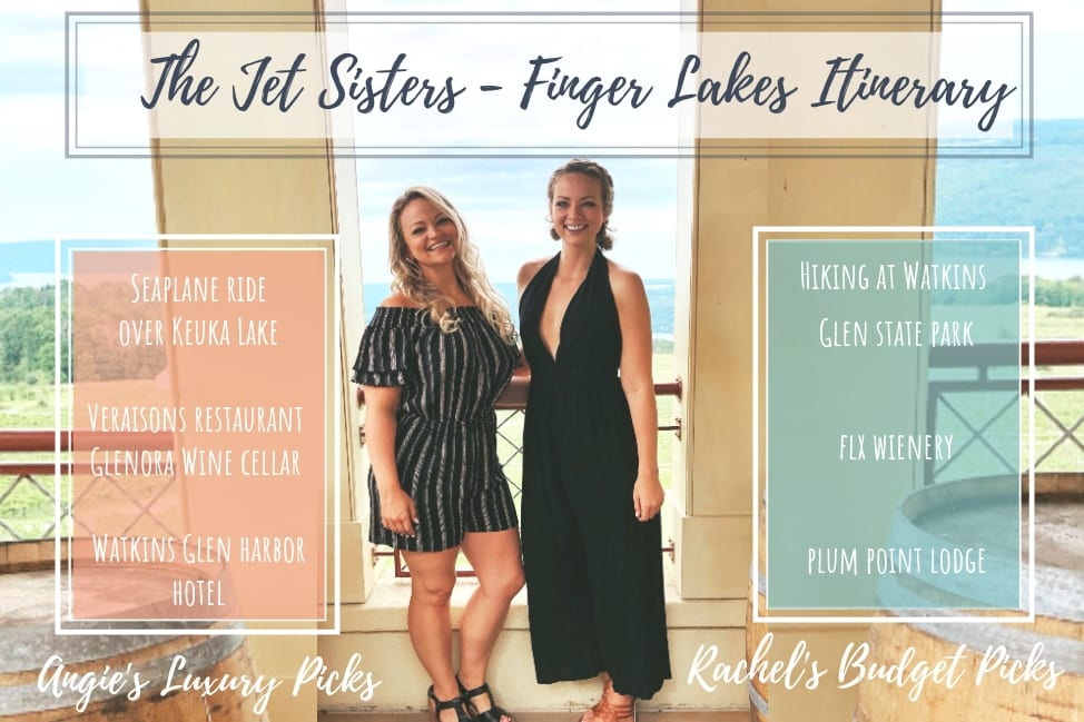 The Jet Sisters in the Finger Lakes, NY