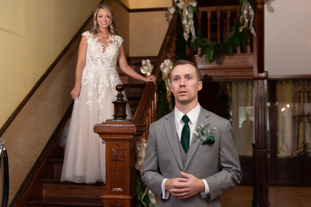 First Look Highland Manor Apopka Wedding