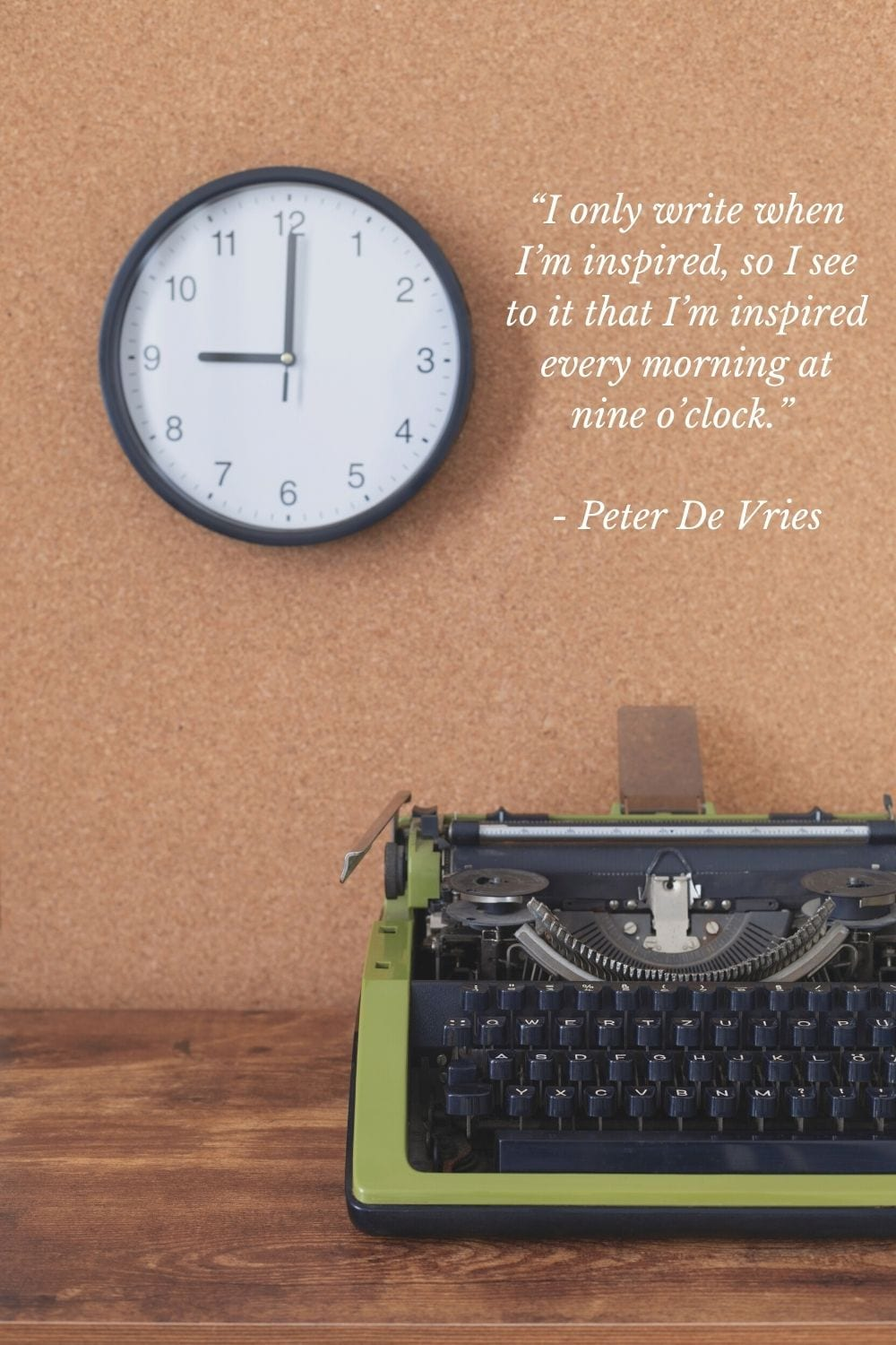Inspirational writing quote