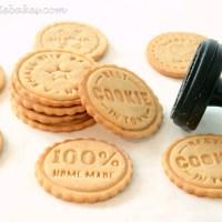 Medovo-škoricové pečiatkové keksíky