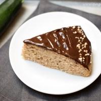 Mandľovo-cuketový koláč
