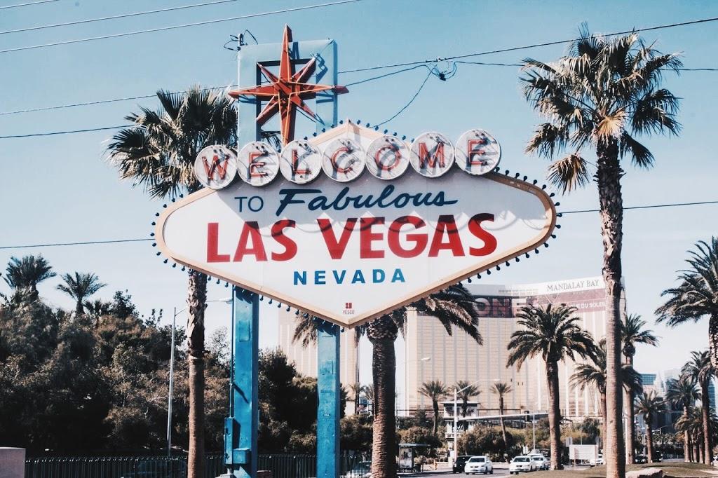 Le panneau de Las Vegas