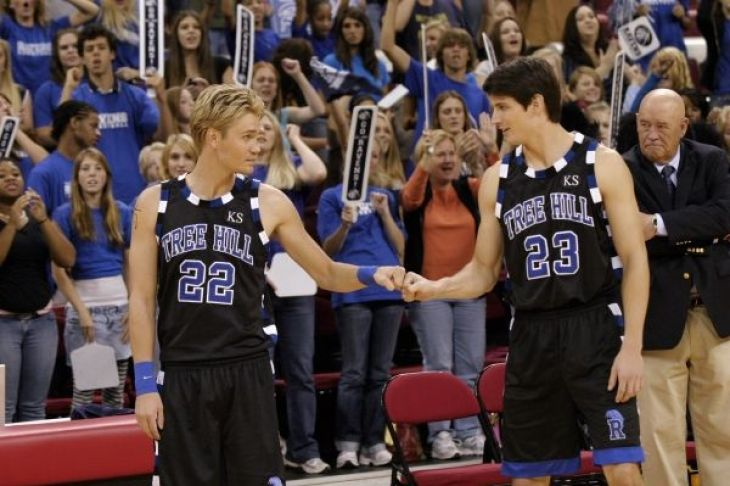 Lucas et Nathan, les frères scott