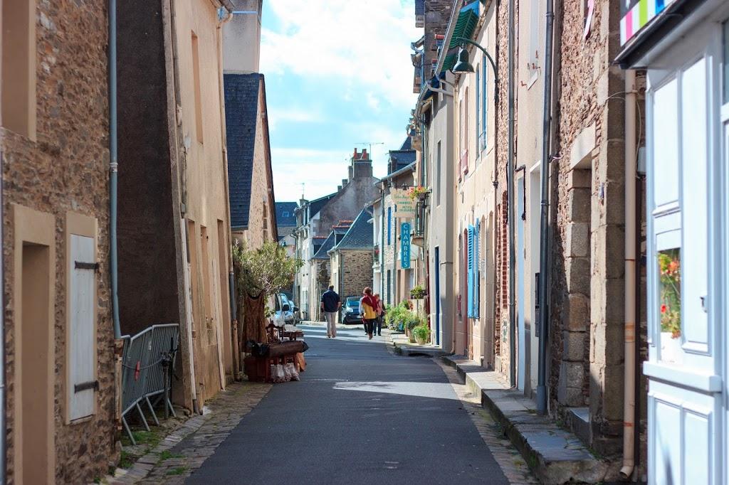 Les rues bretonnes de Cancale