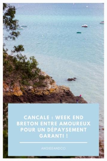Epingle pinterest pour notre week end à Cancale