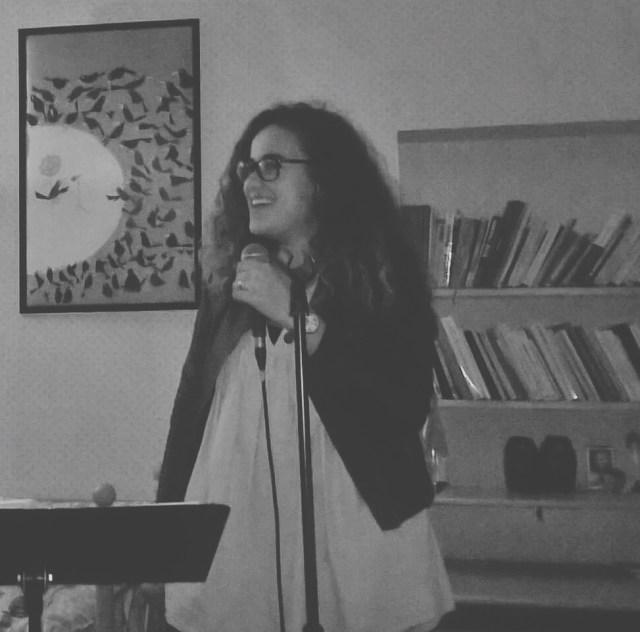 Ma première fois à chanter devant des personnes