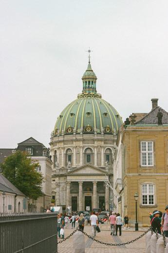 Bâtiment à Copenhague