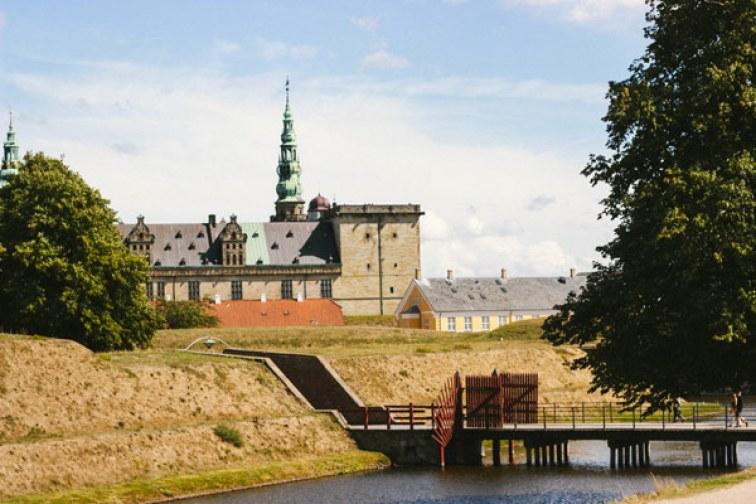 La cour du château de Kronborg