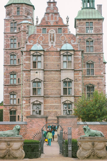 Château de la reine de Danemark à Copenhague
