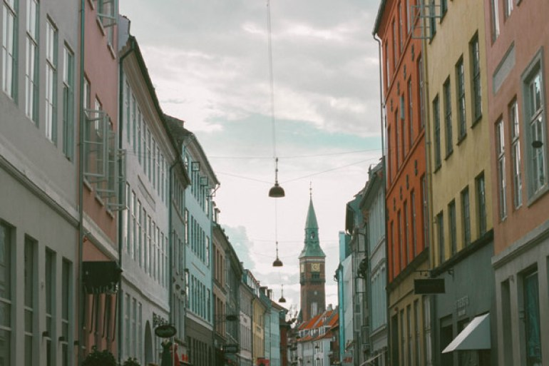 Les rues danoises