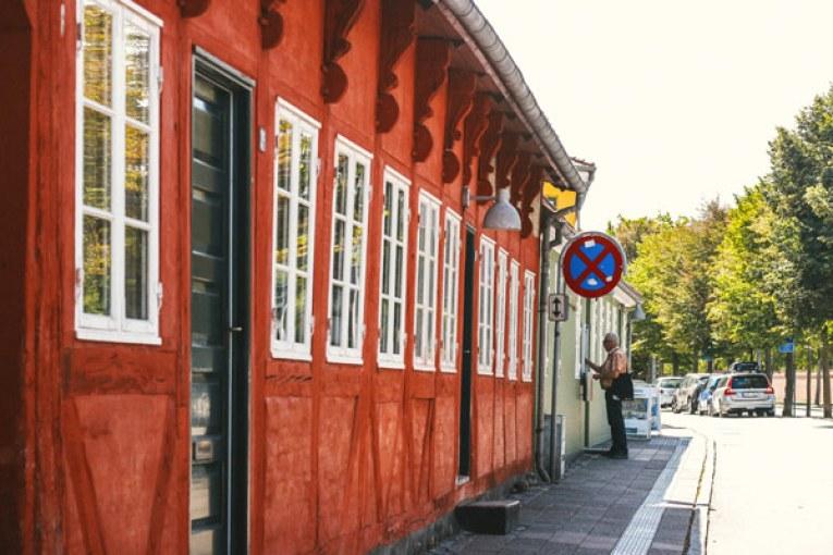 La maison rouge d'Helsingør
