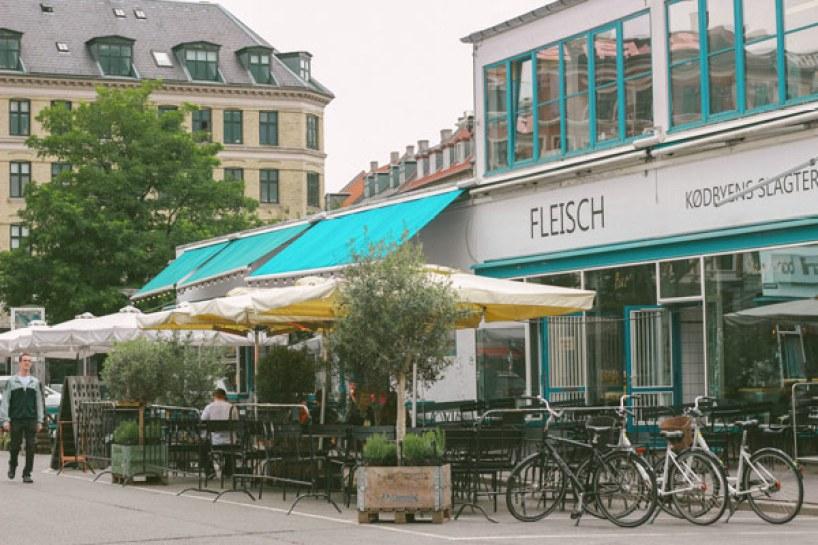 Quartier de Meatpacking à Copenhague