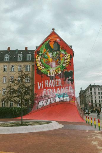 Nørrebro et son street art