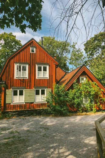 Les anciennes maisons de Stockholm