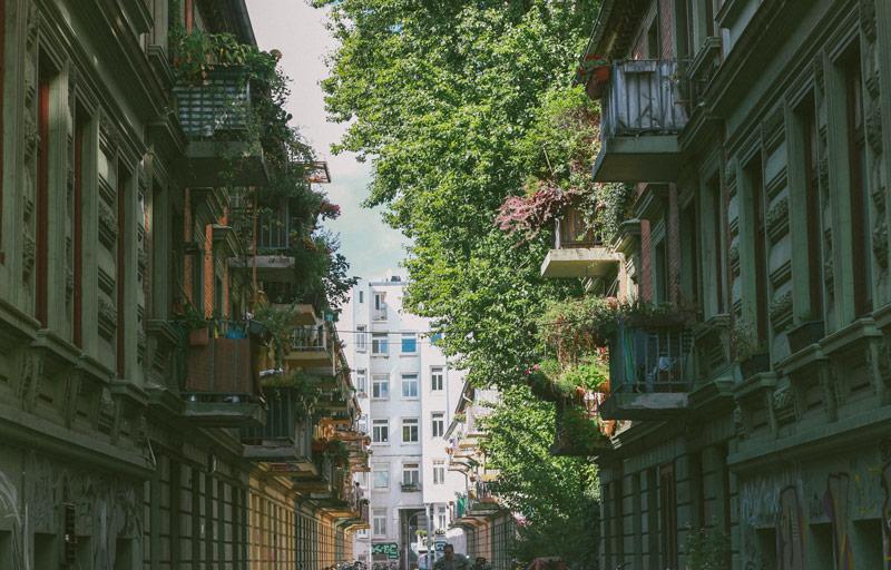 Le quartier de Saint Pauli