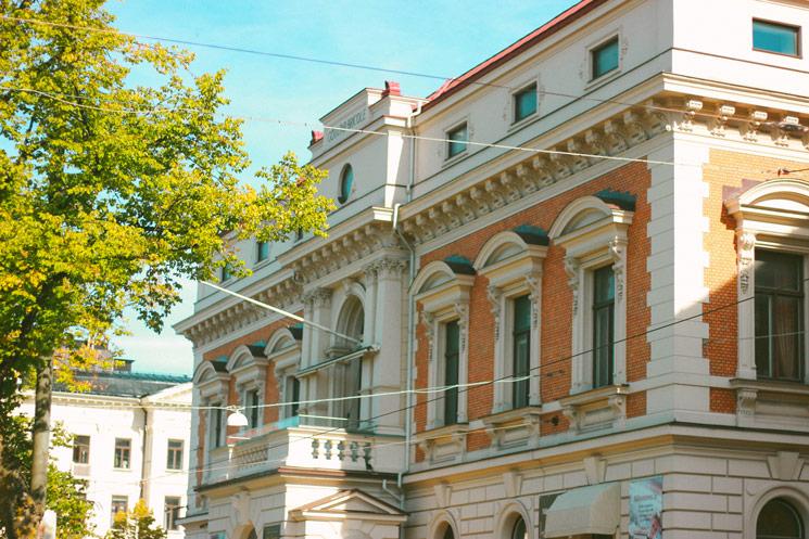 Les bâtiments de Göteborg