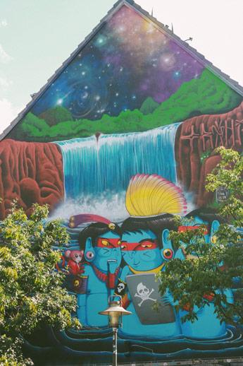 Les graffitis de Saint-Pauli