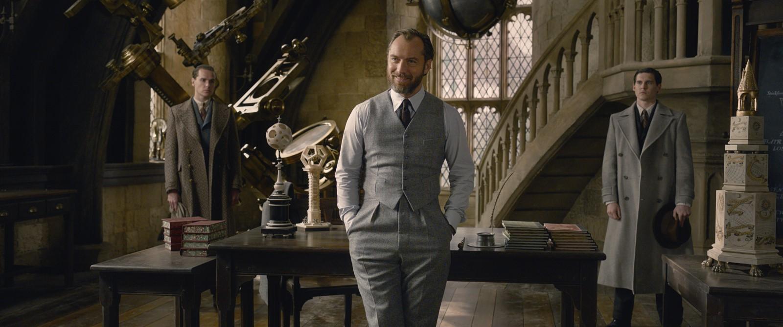 Dumbledore à Poudlard dans les Crimes de Grindelwald