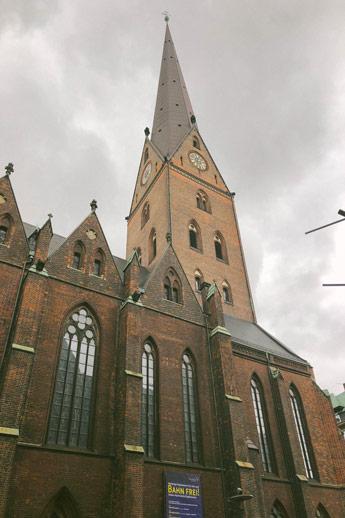 Eglise Saint Peter d'Hambourg
