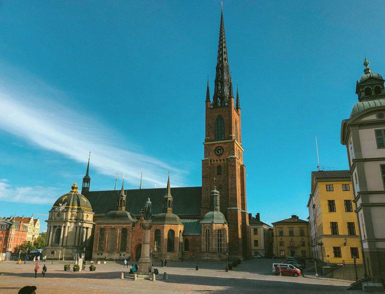 Eglise Riddarholmen Stockholm