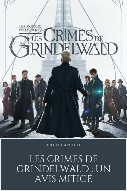 Epingle Pinterest pour article les Crimes de Grindelwald