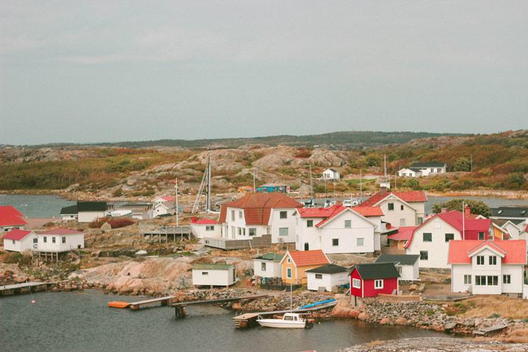 Les habitations de Vrångö