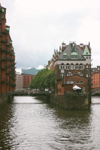 Quartier ouvrier Hambourg