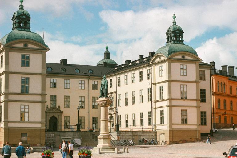Place autour de l'église Riddarholmen