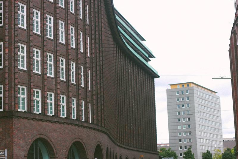 La quartier des affaires d'Hambourg et son Kontorhaus