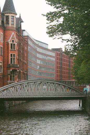 Tous les ponts du quartier ouvrier d'Hambourg