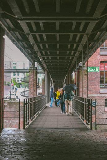Sous les ponts d'Hambourg