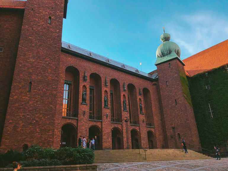 L'hôtel de ville de Stockholm