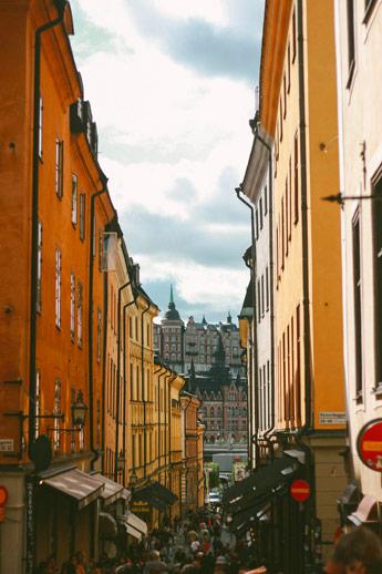 Vue sur Stockholm depuis Galan Stan